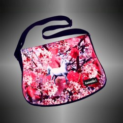 "Fashion bag ""Cherry"" with covers to change"