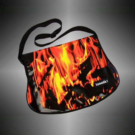 "Fashion bag ""Fire"" with covers to change"