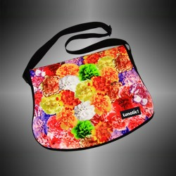 "Fashion bag ""Flower"" with covers to change"