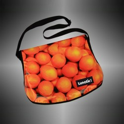 "Fashion bag ""Orange"" with covers to change"