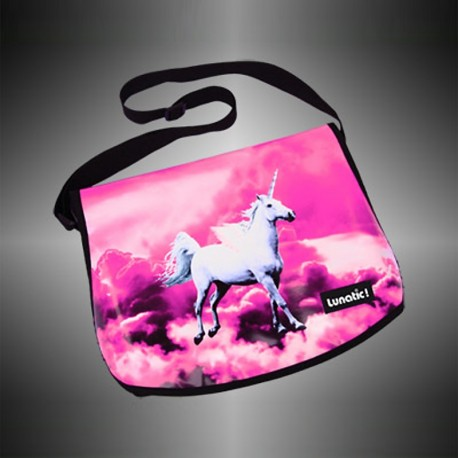 "Fashion bag ""Pegasus Pink"" with covers to change"