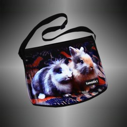 "Fashion bag ""Rabbit"" with covers to change"