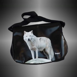 "Fashion bag ""Wolf"" with covers to change"