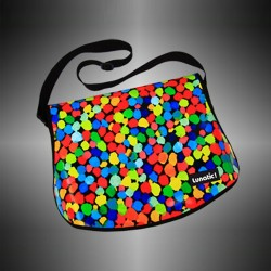 "Fashion bag ""Confetti"" with changeable covers"
