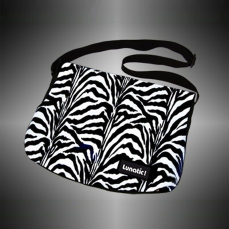 "Fashion bag ""Zebra"" with changeable covers"